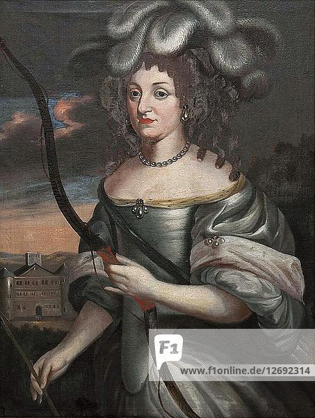 Duchess Louise Elisabeth of Courland (1646-1690)  Landgravine of Hesse-Homburg  Second Half of the 1
