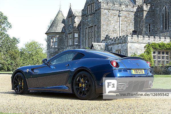 2010 Ferrari 599 GTO Artist: Unknown.