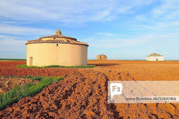Dovecotes. Villarr?n de Campos. Tierra de Campos region. Zamora province. Castilla y Le?n. Spain