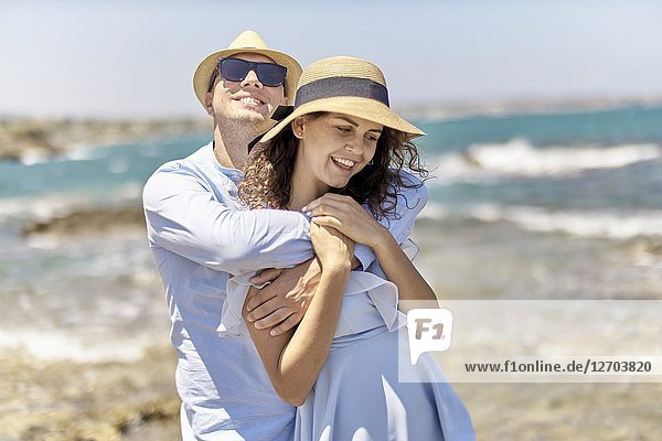 Couple at beach  holidays  summer  love  flirt