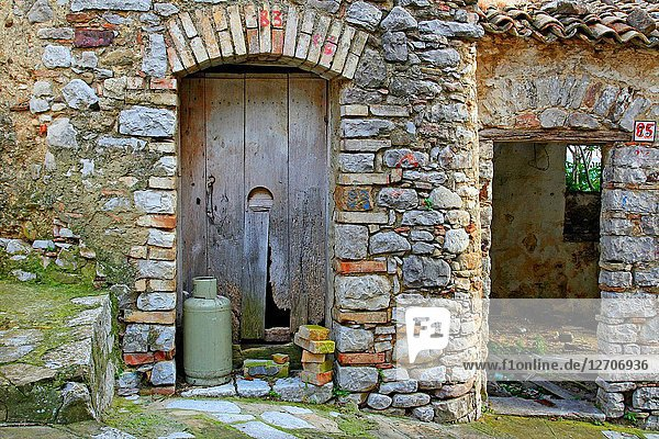 Abandoned house  Cancellara  Potenza  Italy