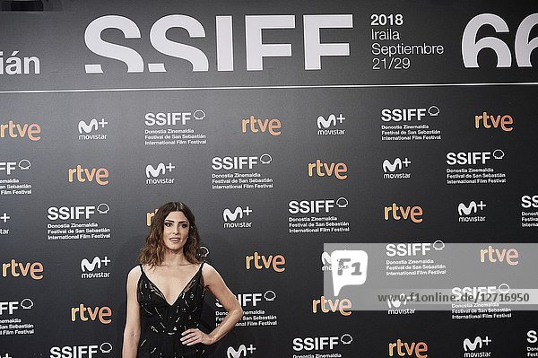 Barbara Lennie attended 'El Reino' Premiere during the 66th San Sebastian International Film Festival at Kursaal Palace on September 22,  2018 in San Sebastian,  Spain