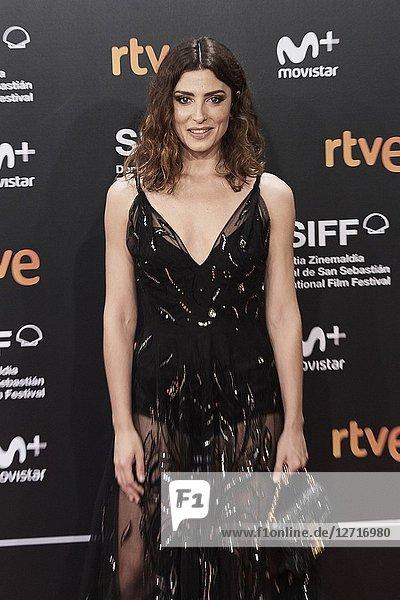 Barbara Lennie attended 'El Reino' Premiere during the 66th San Sebastian International Film Festival at Kursaal Palace on September 22  2018 in San Sebastian  Spain