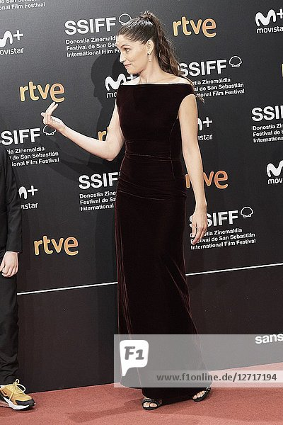Laetitia Casta attended 'A Faithful Man' Premiere during the 66th San Sebastian International Film Festival at Kursaal Palace on September 23  2018 in San Sebastian  Spain