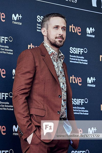 Ryan Gosling attended 'First Man' Premiere during the 66th San Sebastian International Film Festival at Victoria Eugenia Theater on September 24  2018 in San Sebastian  Spain