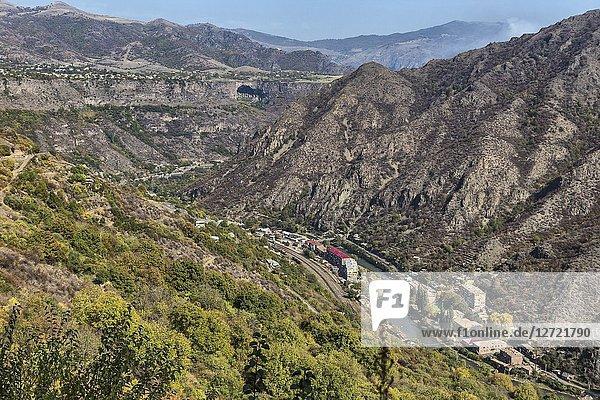 Debed valley  Alaverdi  Lori province  Armenia.
