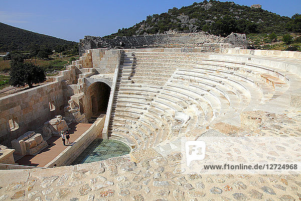 Turkey  province of Antalya  Gelemis  site of Patara  Parliament Building of the Lycian League