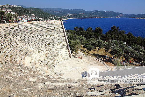 Turkey  province of Antalya  Kas theatre