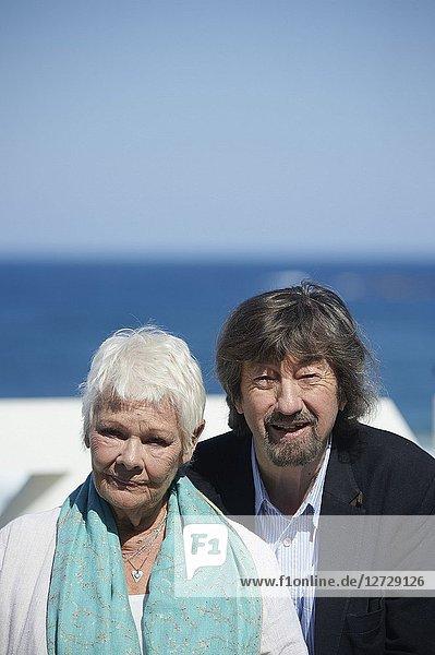 Judi Dench attended 'Judi Dench - Donostia Award' Photocall during the 66th San Sebastian International Film Festival at Kursaal Palace on September 25  2018 in San Sebastian  Spain