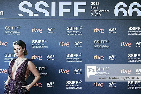 Blanca Suarez attended 'Tiempo despues' Premiere during the 66th San Sebastian International Film Festival at Victoria Eugenia Theater on September 25,  2018 in San Sebastian,  Spain