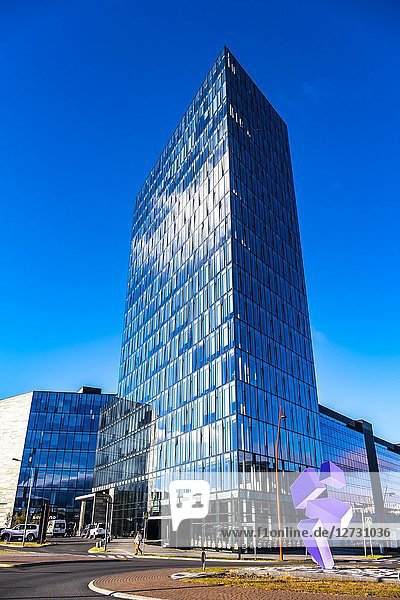 Höfdatorg Tower 1 is an office tower in Iceland.The name Höffatorg is taken from the house Höfdi  which is very close to the building.