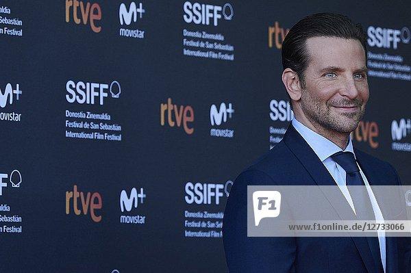 Bradley Cooper attended 'A Star Is Born' Premiere during the 66th San Sebastian International Film Festival at Victoria Eugenia Theater on September 29  2018 in San Sebastian  Spain