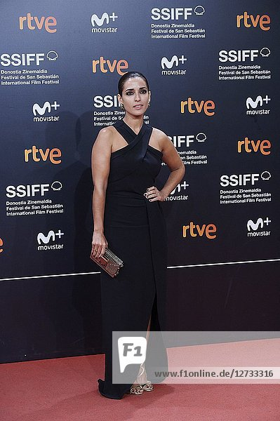 Inma Cuesta attended 'Bad Times at the El Royale' Premiere during the 66th San Sebastian International Film Festival at Kursaal Palace on September 29,  2018 in San Sebastian,  Spain