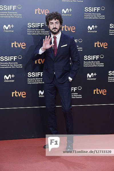 Miki Esparbe attended 'Bad Times at the El Royale' Premiere during the 66th San Sebastian International Film Festival at Kursaal Palace on September 29  2018 in San Sebastian  Spain