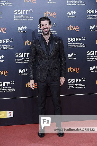 Miguel Angel Munoz attended 'Bad Times at the El Royale' Premiere during the 66th San Sebastian International Film Festival at Kursaal Palace on September 29  2018 in San Sebastian  Spain