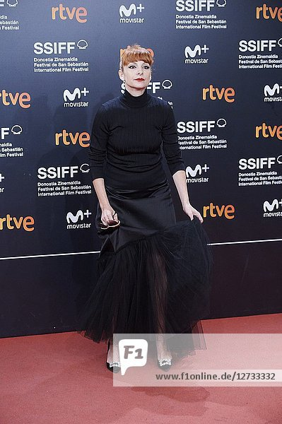 Nawja Nimri attended 'Bad Times at the El Royale' Premiere during the 66th San Sebastian International Film Festival at Kursaal Palace on September 29  2018 in San Sebastian  Spain