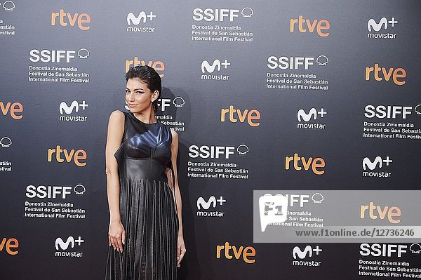Ursula Corbero attended 'El amor menos pensado' Premiere during the 66th San Sebastian International Film Festival at Kursaal Palace on September 21  2018 in San Sebastian  Spain