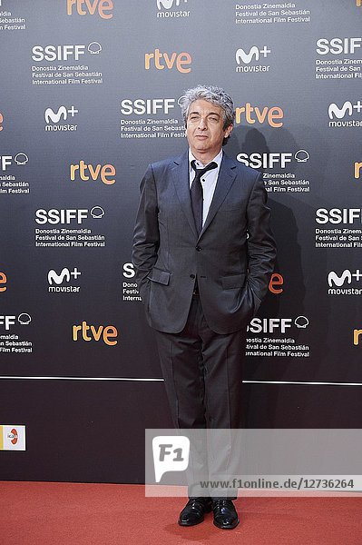 Ricardo Darin attended 'El amor menos pensado' Premiere during the 66th San Sebastian International Film Festival at Kursaal Palace on September 21  2018 in San Sebastian  Spain