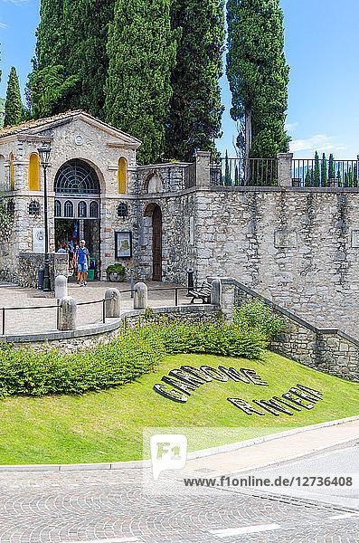 Italy  Lombardy  Gardone Riviera  Vittoriale degli italiani
