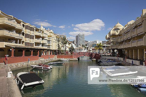 Spain  Andalusia  Costa del Sol  Benalmadena  harbour