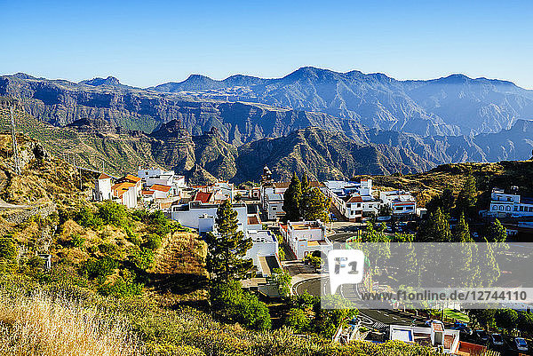 Spain  Canary Islands  Gran Canaria  Artenara