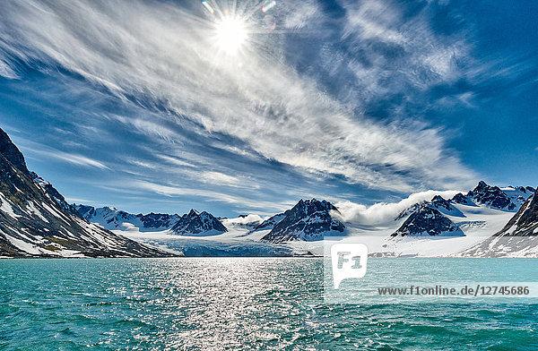 Magdalenefjord, Spitzbergen, Norwegen, Europa