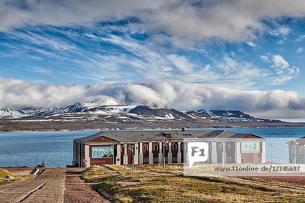 Barentsburg, Spitzbergen, Europa