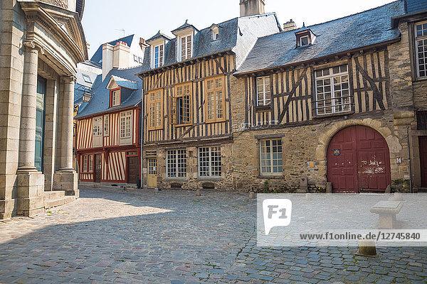 Altstadt, Rennes, Bretagne, Frankreich, Europa