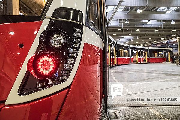 Straßenbahn Flexity, Wien, Österreich, Europa