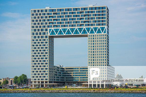 Pontsteiger, Houthaven, Amsterdam, Niederlande, Europa