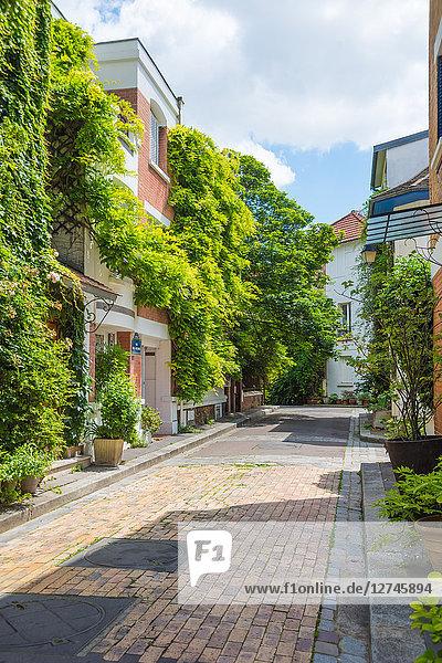 Cité florale  Arrondissement des Gobelins  Paris  Frankreich  Europa