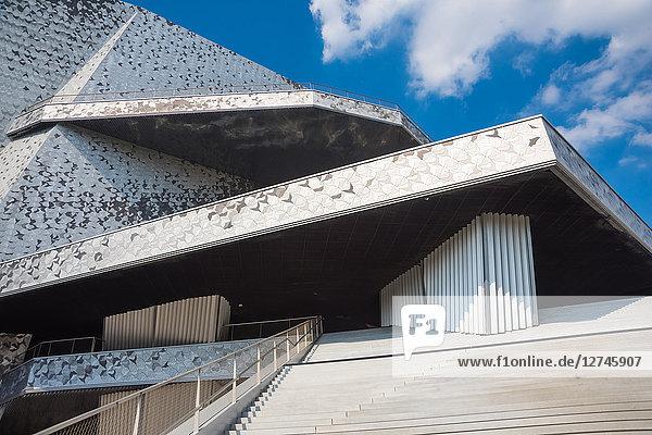 Philharmonie de Paris, Quartier La Villette, Paris, Frankreich, Europa