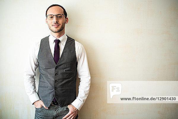 Businessman in waistcoat