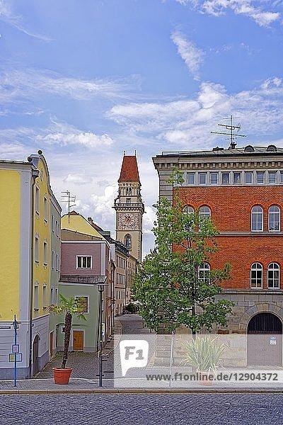 Altes Rathaus  Passau  Niederbayern  Bayern  Deutschland  Europa
