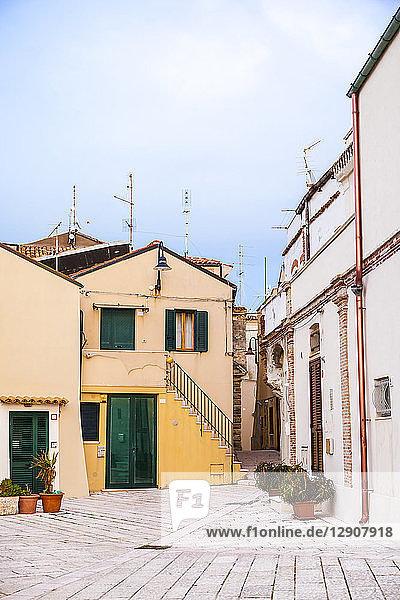 Italy  Molise  Termoli  Old town