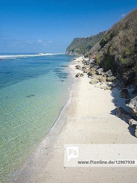 Indonesia  Bali  Aerial view of Karma beach