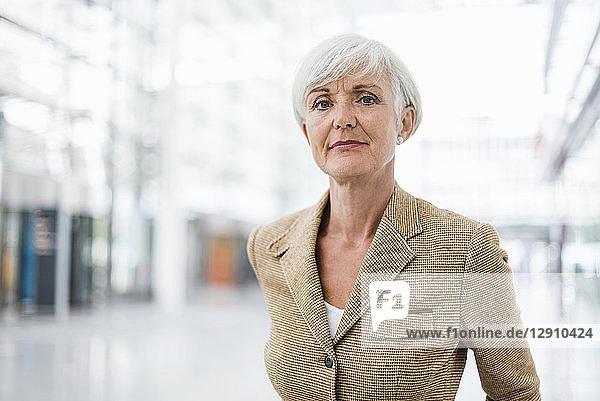 Portrait of confident senior businesswoman