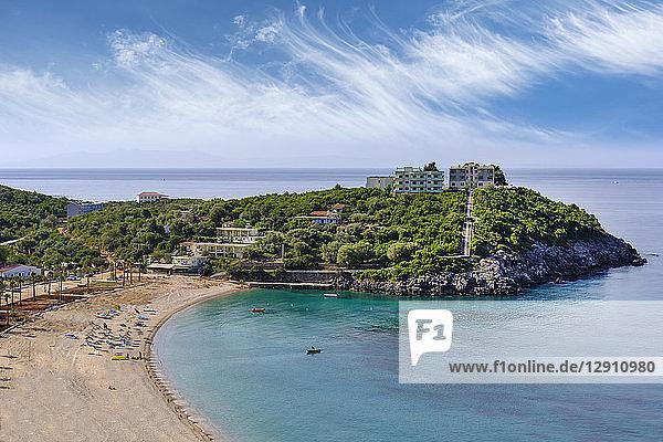Albania  Ionean sea  Albanian Riviera  beach of Jal near Himara