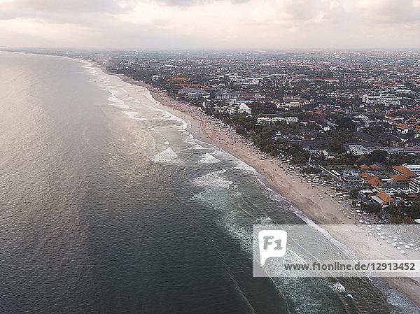Indonesia  Bali  Aerial view of Padma beach