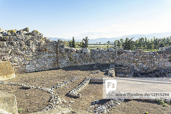 Greece  Peloponnese  Argolis  Tiryns  archaeological site