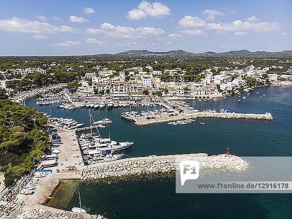Spain  Balearic Islands  Mallorca  Region Cala d'Or  Coast of Porto Petro