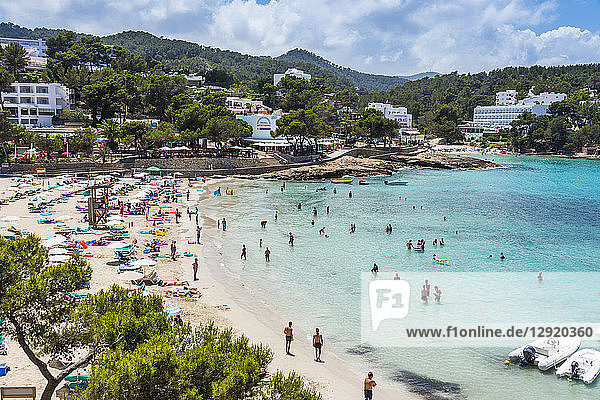Playa De Portinatx beach  Ibiza  Balearic Islands  Spain  Mediterranean  Europe