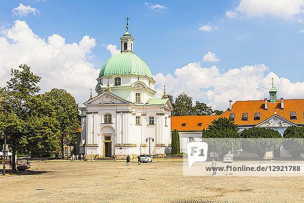 St. Kazimierz Church  Warsaw  Poland