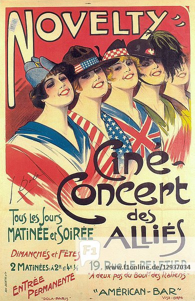 Novelty - Cine Concert des Allies