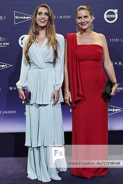 Ona Carbonell  Samantha Vallejo-Najera attends TELVA magazine tribute to Naty Abascal at Real Academia de San Fernando on October 9  2018 in Madrid  Spain