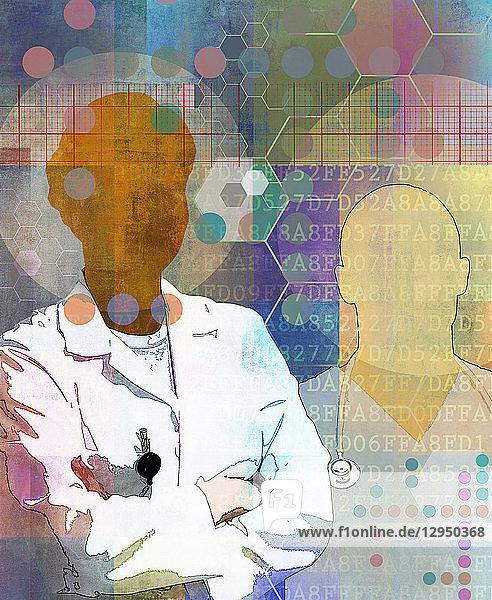 Ärzte und medizinische Forschung
