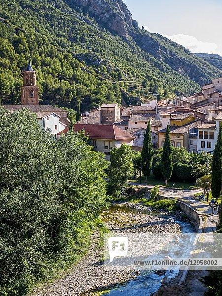 Arnedillo. La Rioja. Spain.
