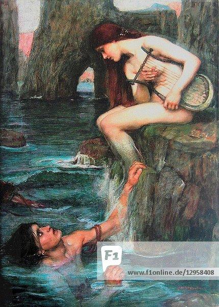Waterhouse John William - the Siren.
