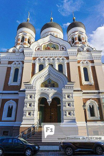 Alexander Nevsky Cathedral. Tallinn. Estonia.