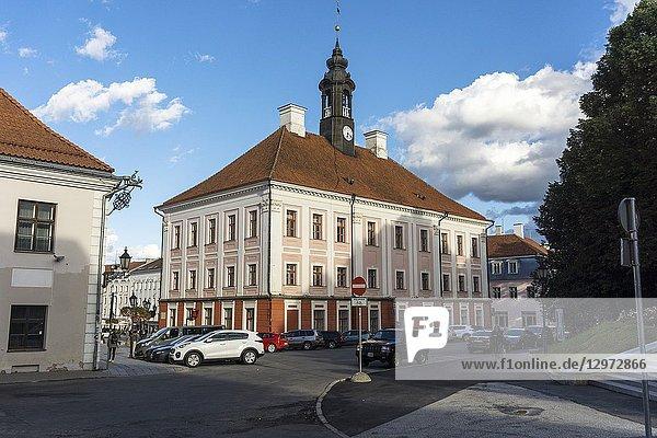 Town Hall. Tartu. Estonia.
